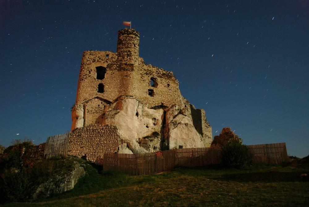 Burg in Mirow / zamek w Mirowie