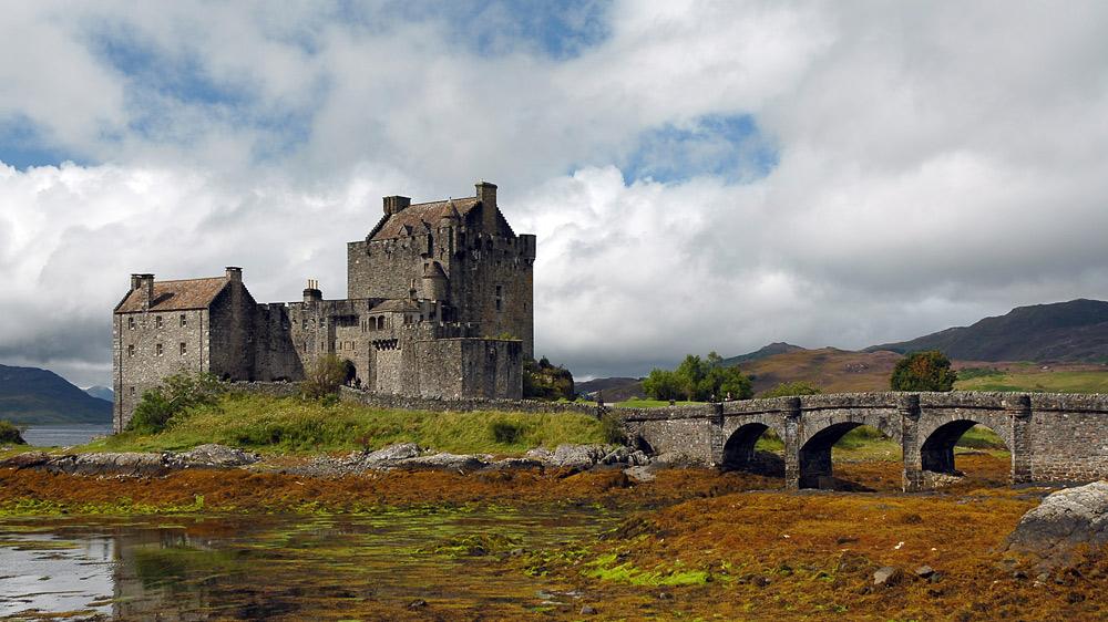 Burg in Schottland ...