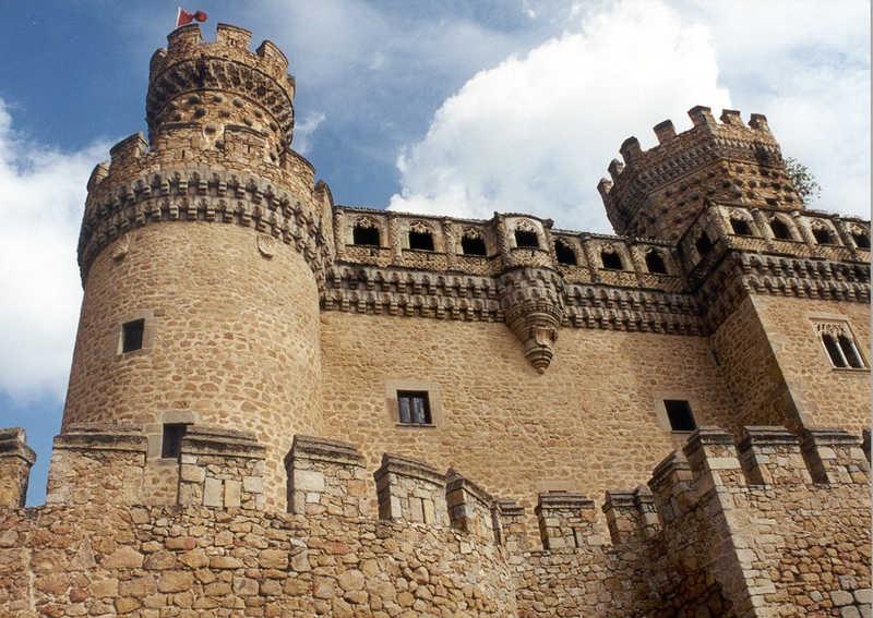 Burg in Spanien