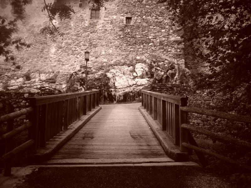Burg-Kaprun Brücke