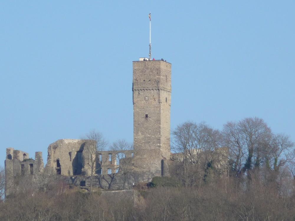 Burg Königstein mit Lumix TZ5 mit 10-fach optischem und 6-fach digitalem Zoom