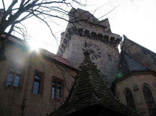 Burg Kreuzenstein Innenhof