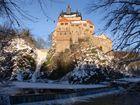 Burg Kriebstein im Schnee