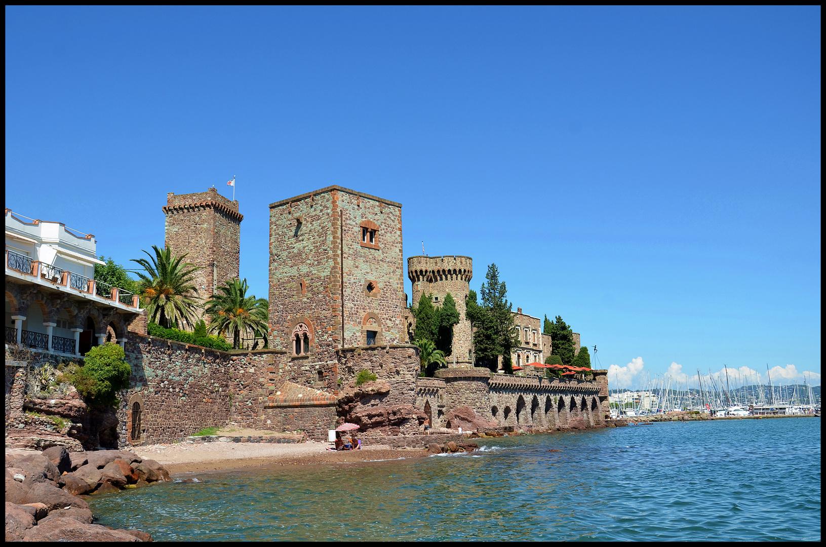 Burg La Napoule