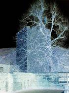 Burg Landeck negativ