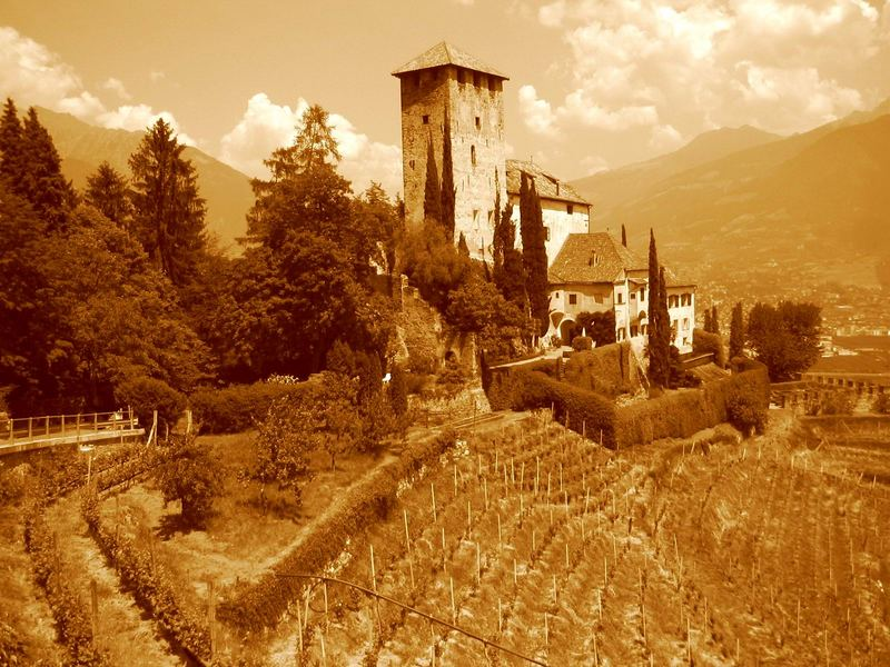 Burg Leonberg in Tscherms / Südtirol