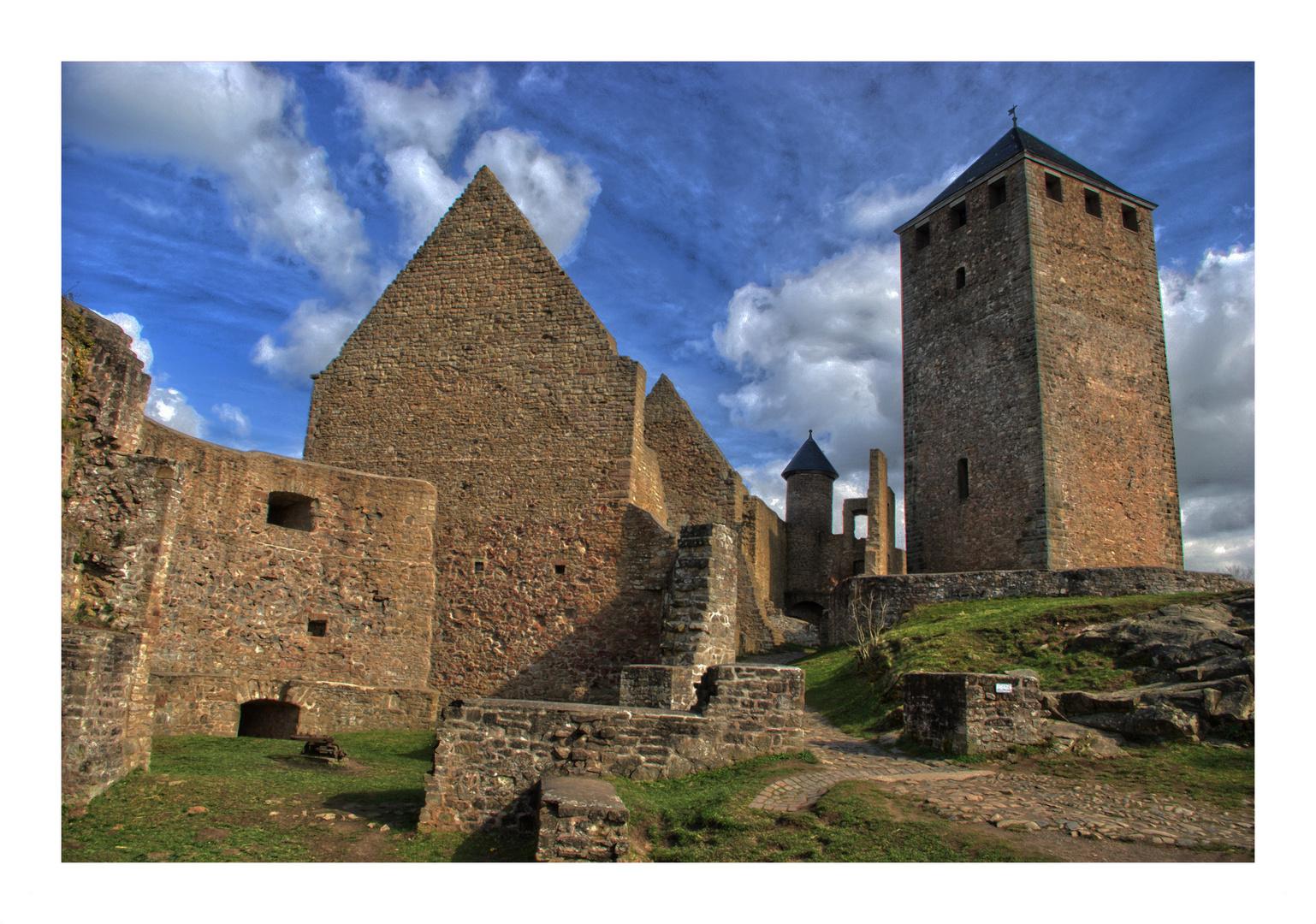 """""""Burg Lichtenberg bei Kusel"""""""