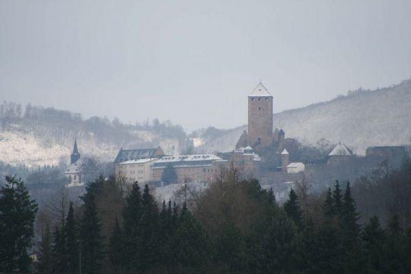 Burg Lichtenberg vom Küchenfenster aus