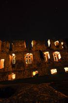Burg Lichtenberg von aussen angestrahlt