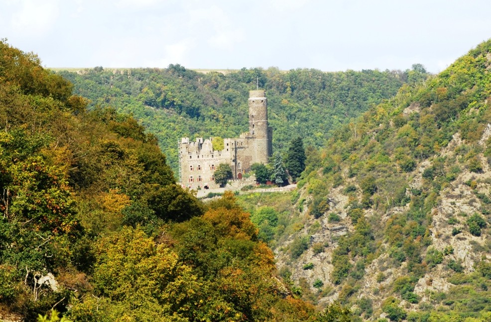 Burg Maus in der Nähe von St. Goar