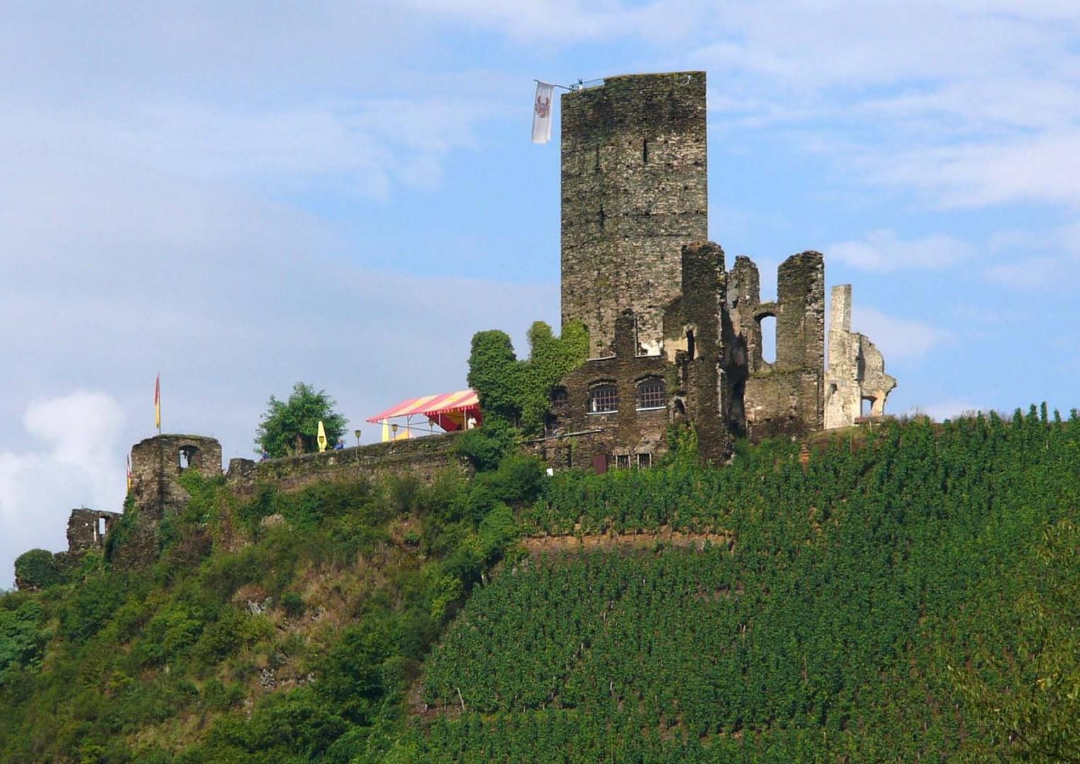Burg Metternich/Beilstein - Mosel