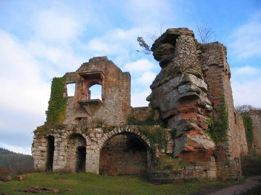 Burg Neuscharfeneck, Pfalz