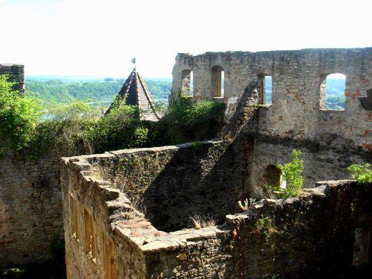 Burg ohne Dächer
