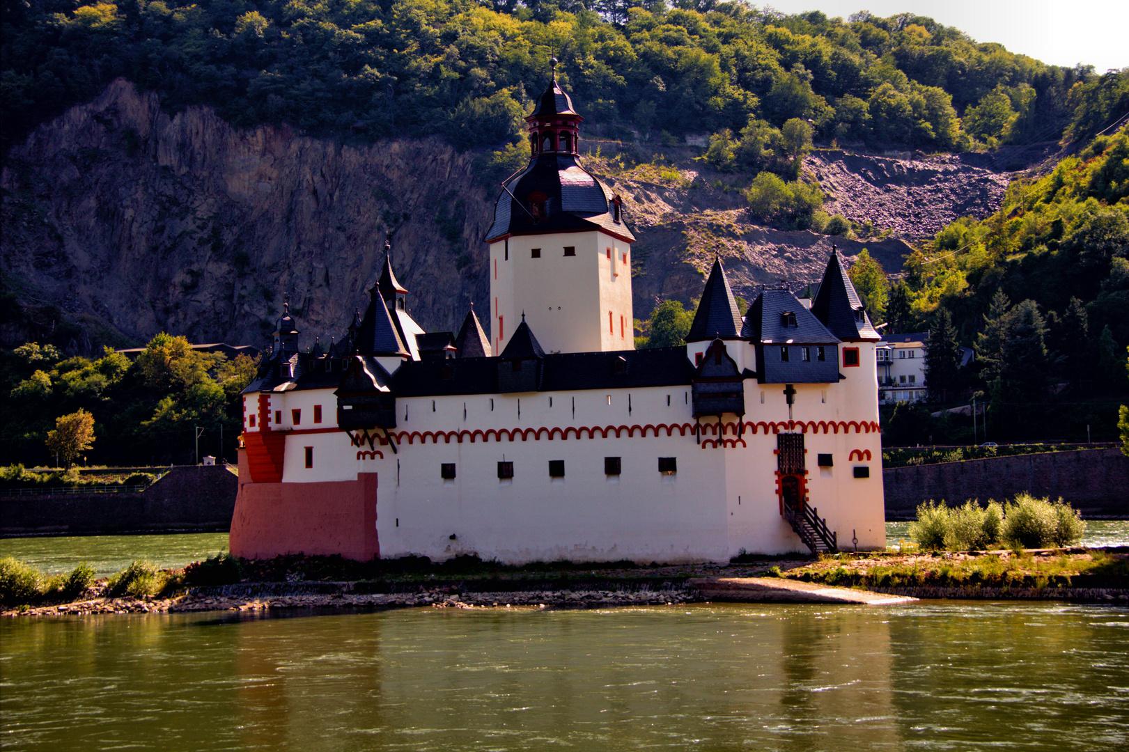 Burg Pfalzgrafenstein ( Die Pfalz bei Kaub )