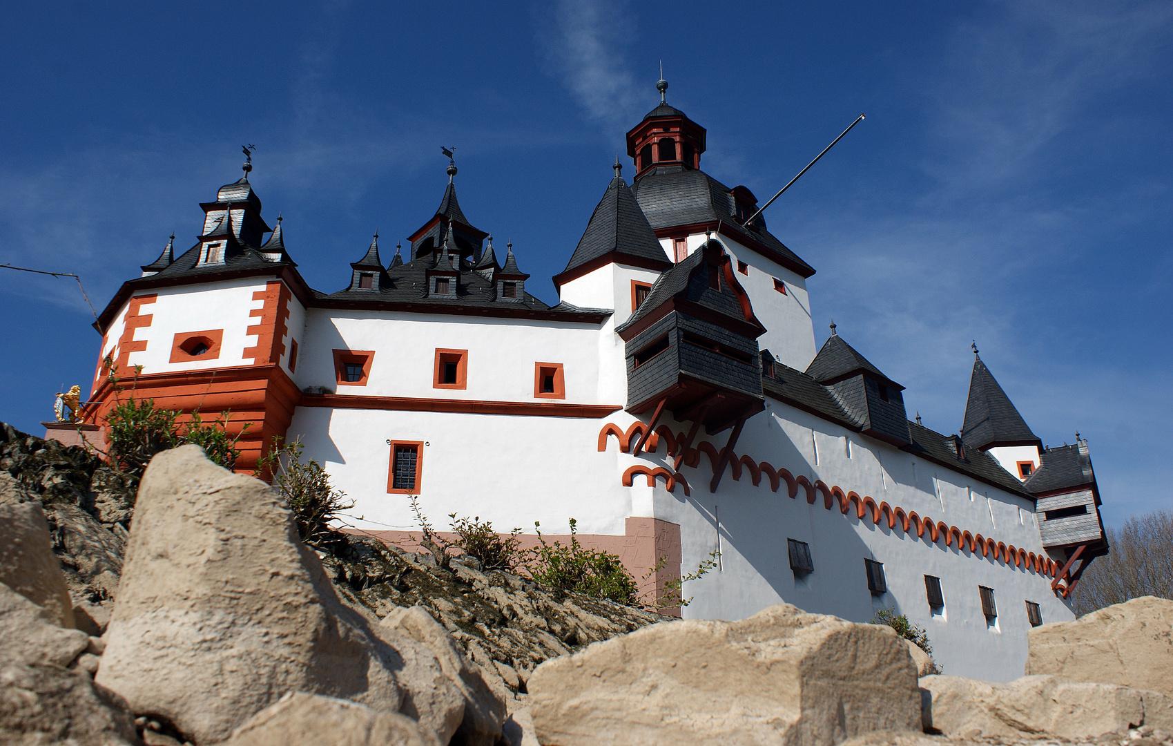 Burg Pfalzgrafenstein- oberes Mittelrheintal
