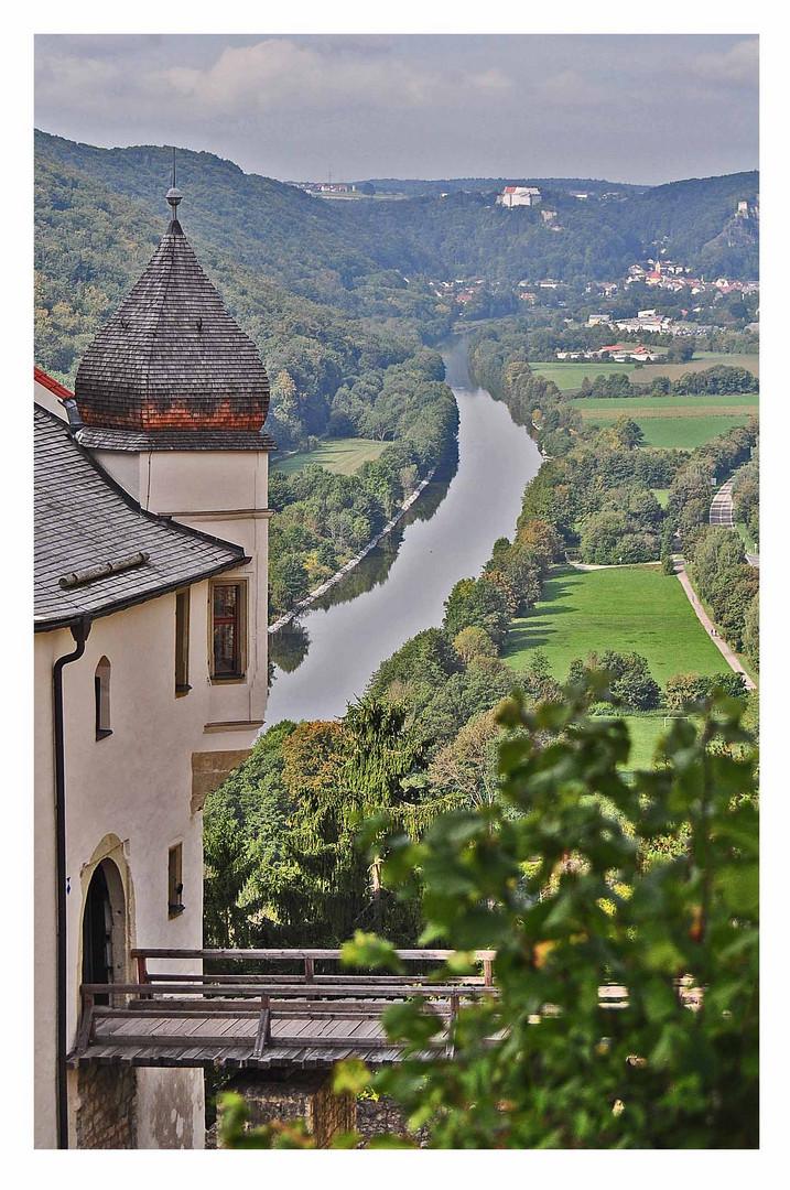 Burg Prunn im Altmühl Tal...