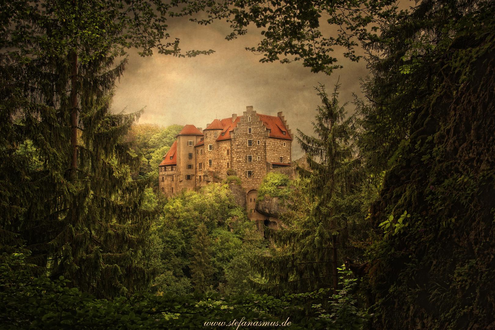 Burg Rabenstein/Farbe