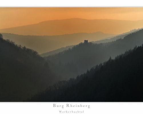 Burg Rheinberg im Werkerbachtal