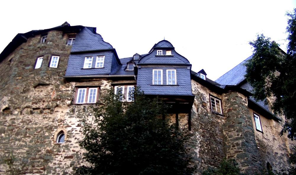 Burg Runkel-Detailaufnahme