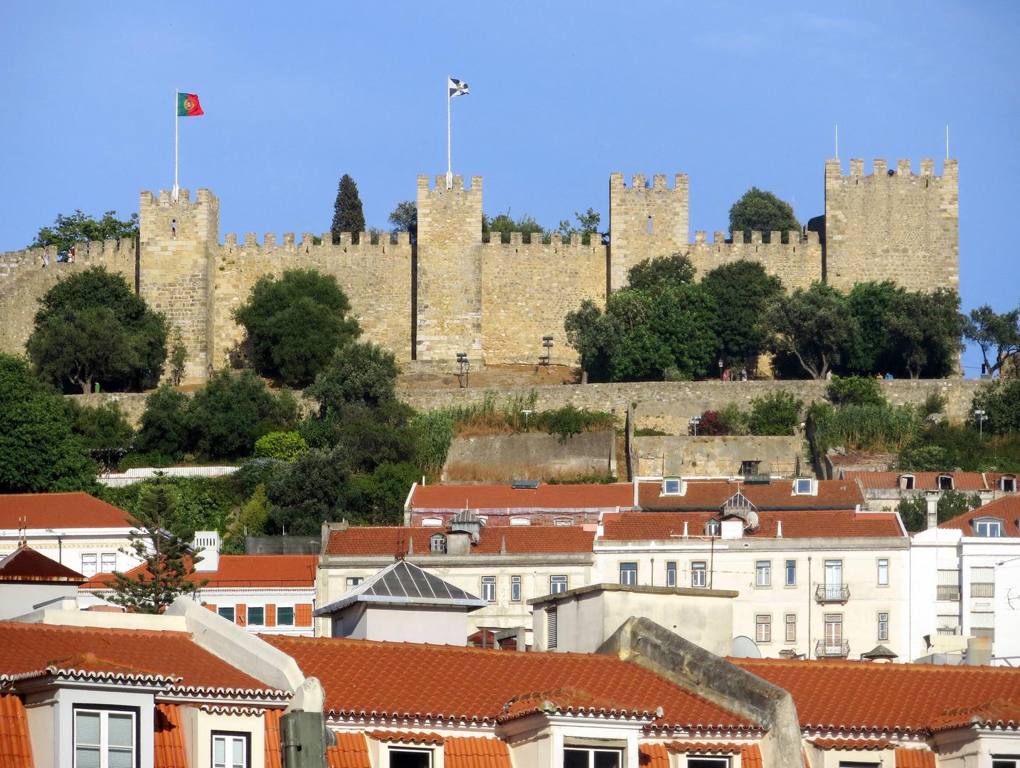 Burg Sao Jorge ...