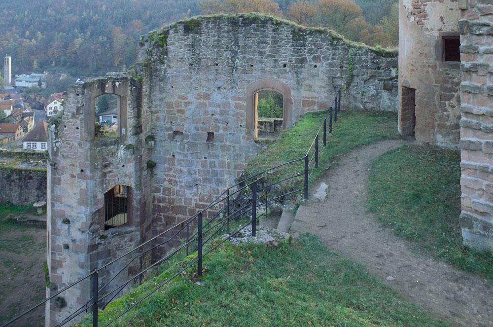 Burg-/Schloßruine Hardenburg,