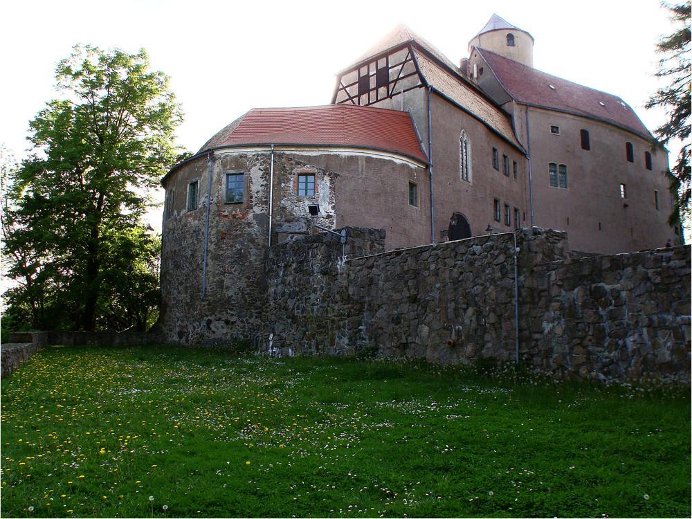 Burg Schönfels ( im Gegenlicht )