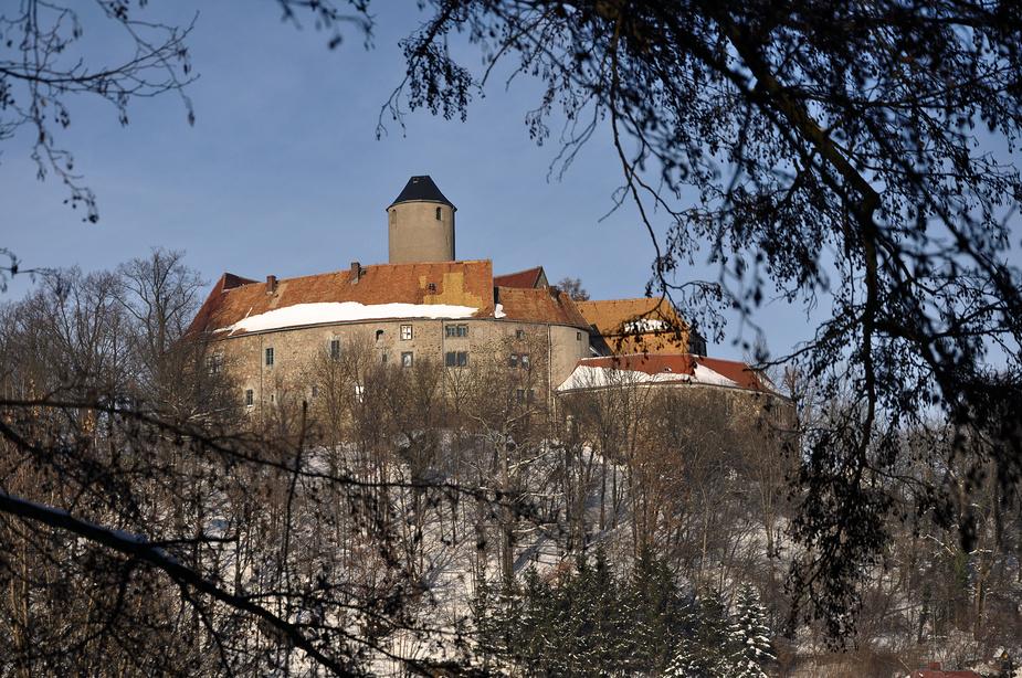 Burg Schönfels *~*~*~* im schönsten Winterkleid.*~*~*~* Nr. 1