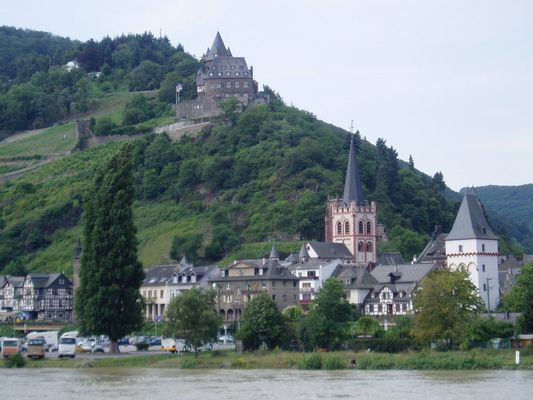Burg-Stahleck in Bacharach