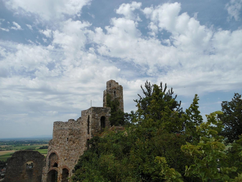 Burg Staufen BW von oben