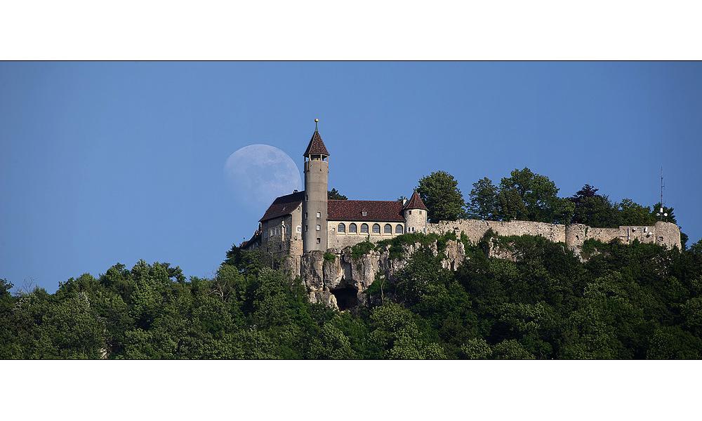 Burg Teck mal bei Tag