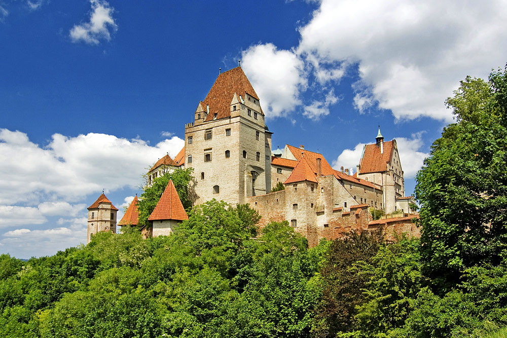 Burg Trausnitz in Landshut