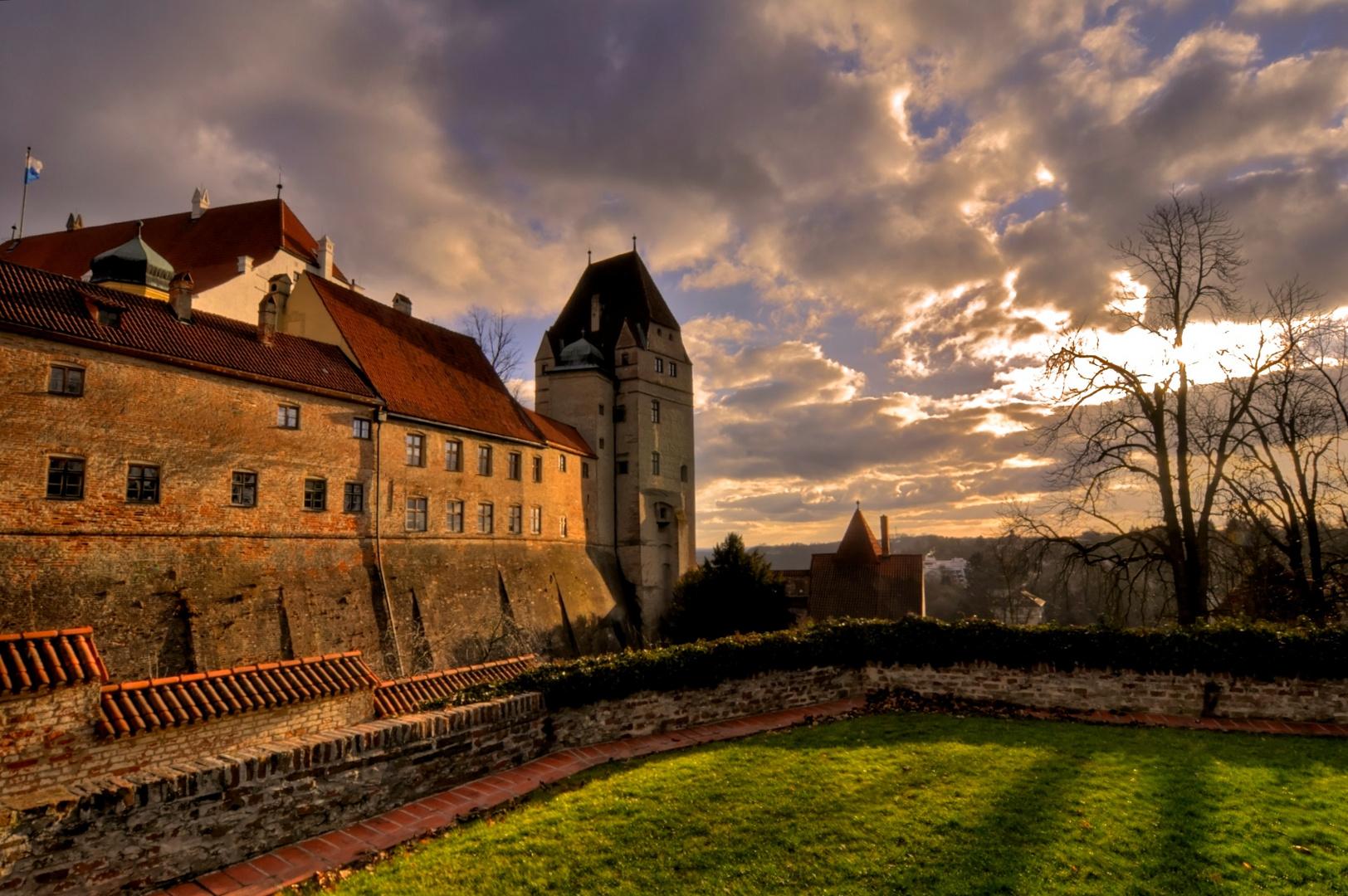 Burg Trausnitz in Landshut / Niederbayern