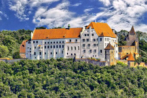 Burg Trausnitz, Landshut Bayern