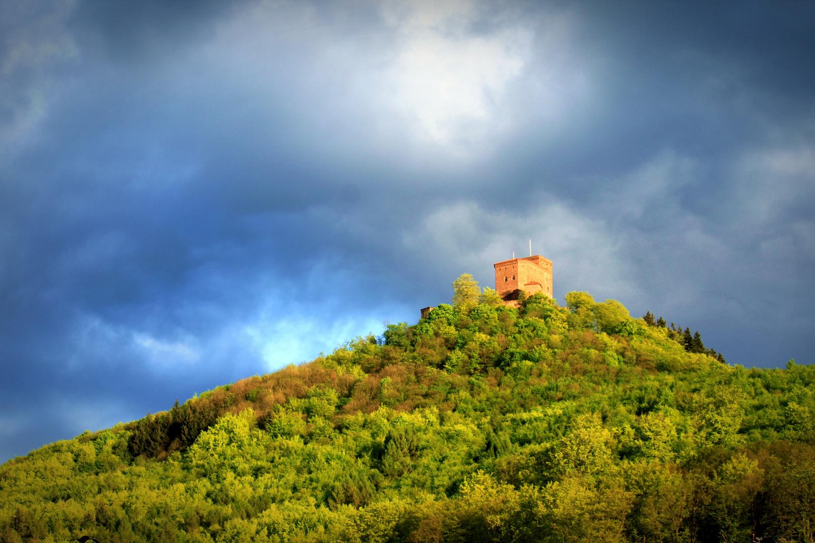 Burg Trifels auf dem Gipfel