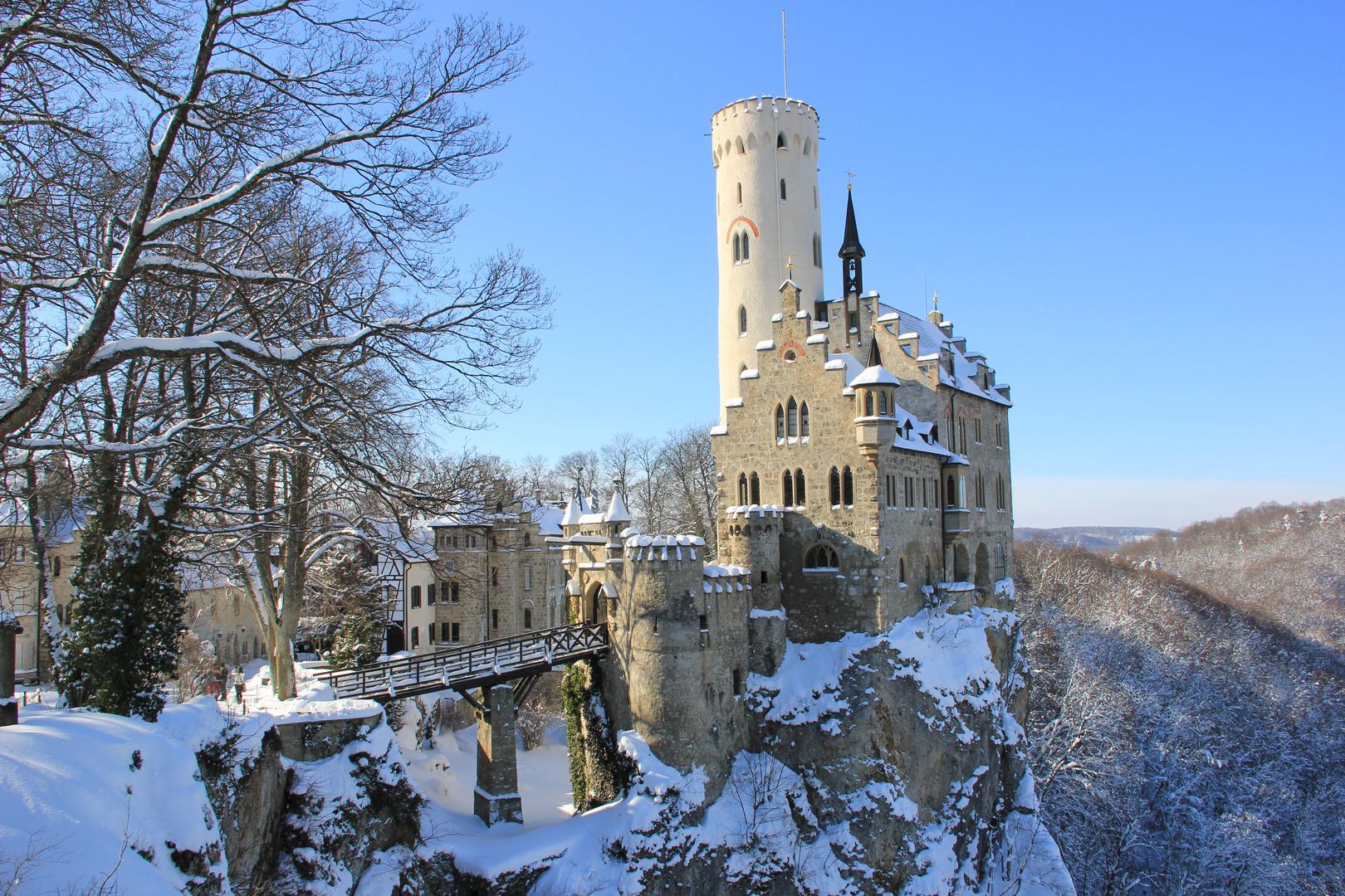 Burg und Schloss Lichtenstein