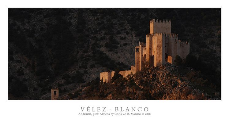 Burg Vélez-Blanco II (Andalusien)