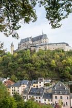 Burg Vianden in Luxemburg