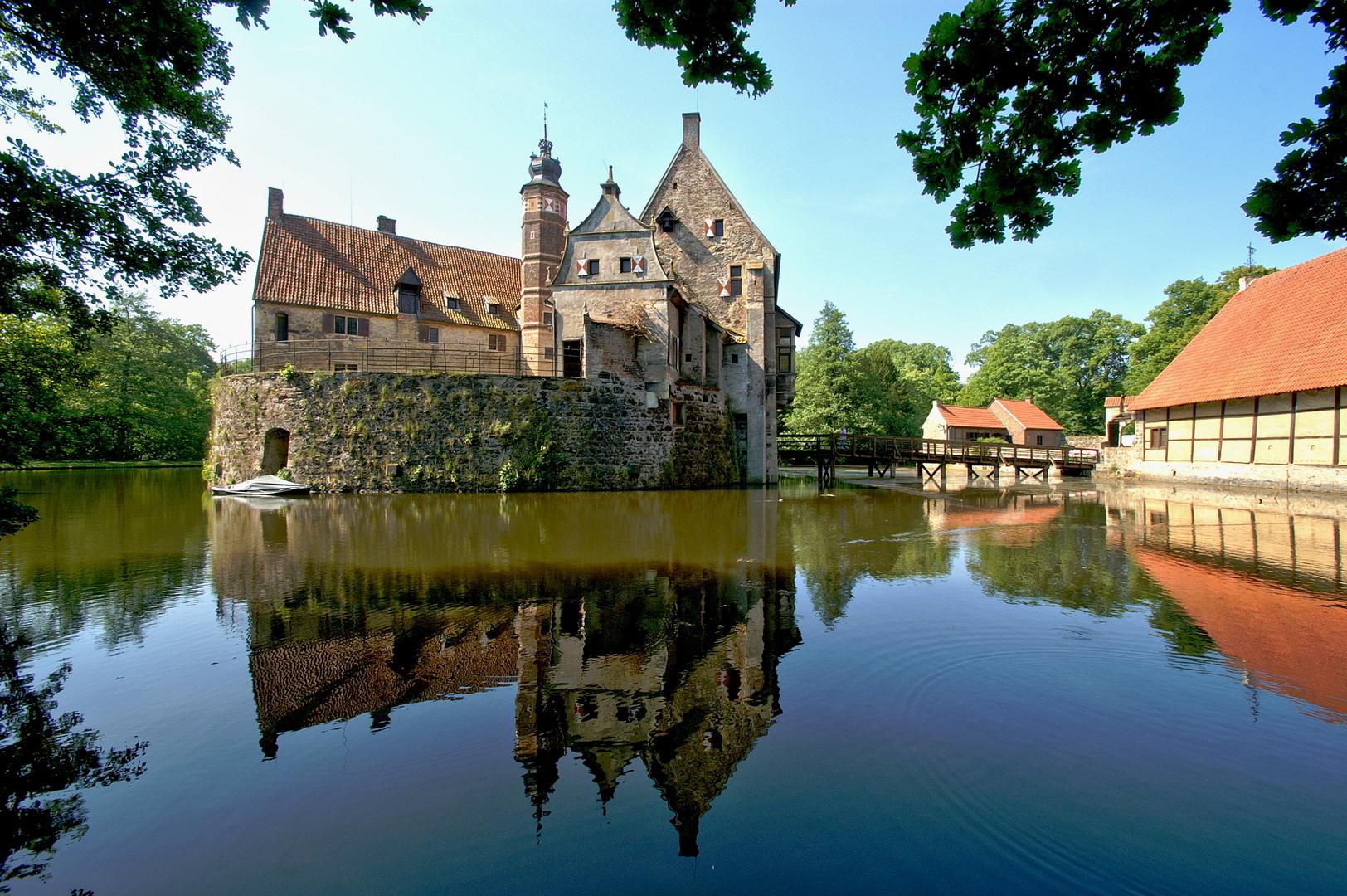 Burg Vischering in Lüdighausen.