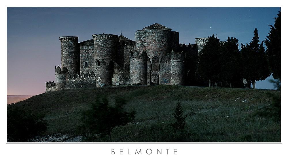 Burg von Belmonte (Castilla la Mancha, Spanien)