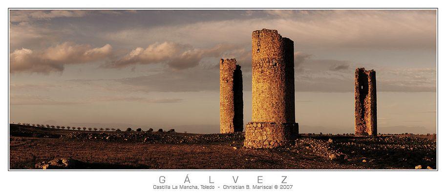 Burg von Gálvez (Castilla La Mancha, Spanien)