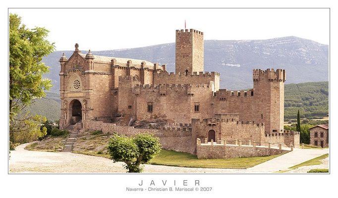 Burg von Javier (Navarra, Spanien)