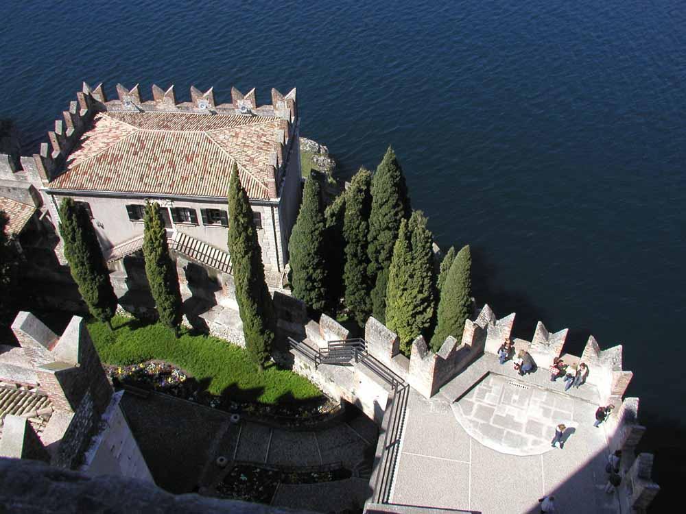 Burg von Malcesine am Gardasee