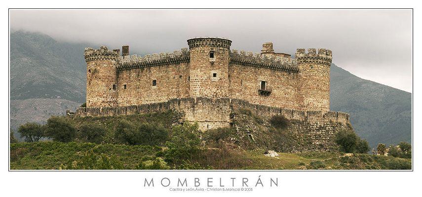 Burg von Mombeltrán (Castilla y León, Spanien)