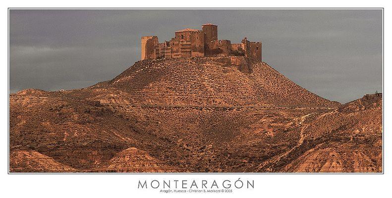 Burg von Montearagón (Spanien)