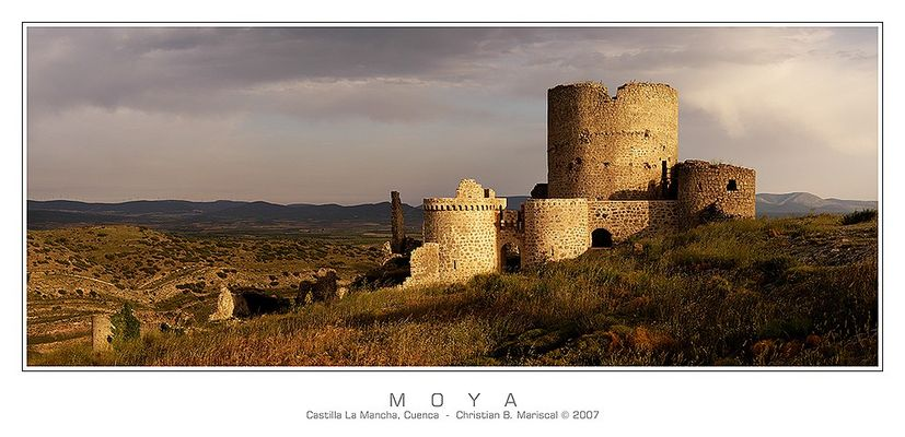Burg von Moya (Castilla La Mancha, Spanien)