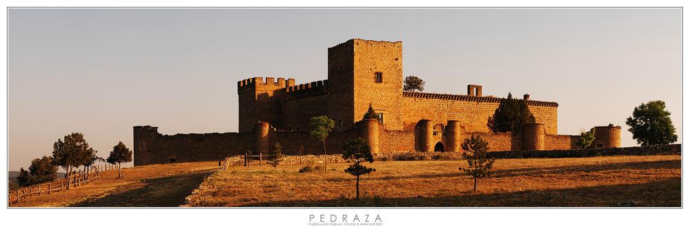 Burg von Pedraza (Castilla y León, Spanien)