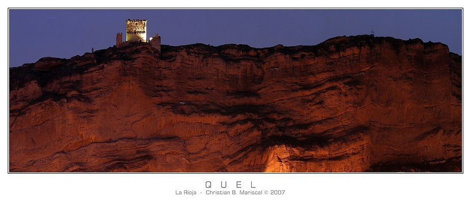 Burg von Quel (La Rioja, Spanien)