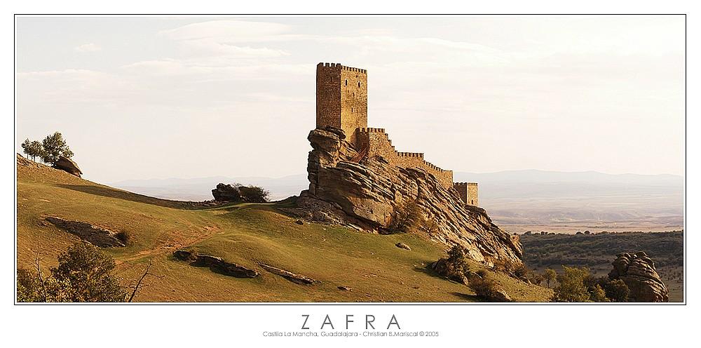 Burg von Zafra (Castilla La Mancha, Spanien)