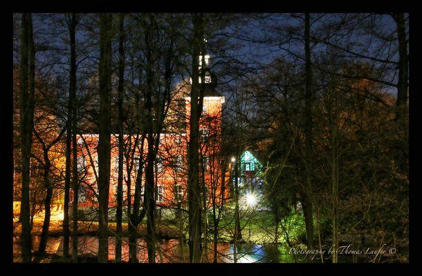 Burg Wissem by Night