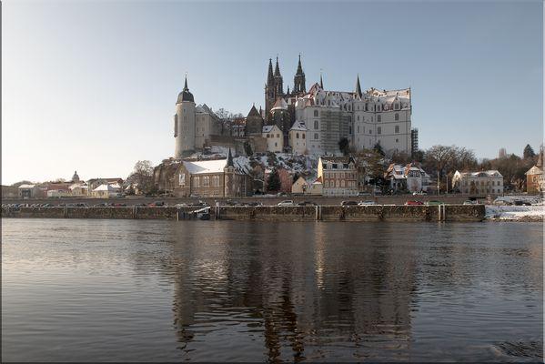 Burgberg mit Albrechtsburg